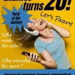 20th Birthday Magazine Cover