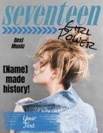 Seventeen cover maker